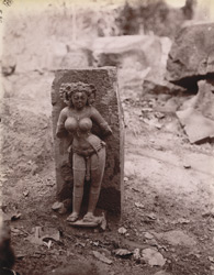 Life-size female statue from Kichang, Singhbhum District